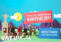 No te pierdas la Bienvenida Novato UC 2017
